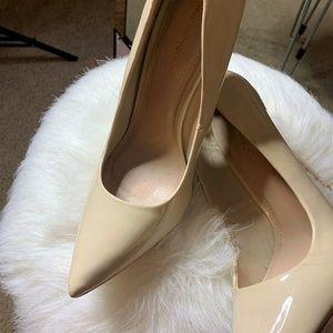 Heels,Cream Heels